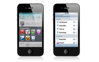 iPhone 4S apple device