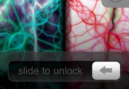apple slide to unlock