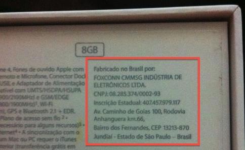 iphone 8gb brasile