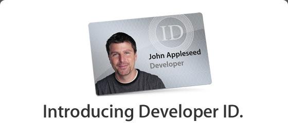 programma sicurezza developer id