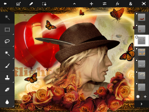 Adobe lancia Adobe Photoshop Touch per iPad 2