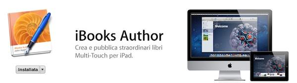 Apple cambia l'EULA di iBooks Author