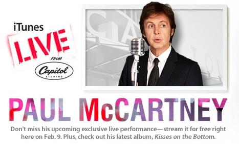 Paul McCartney itunes