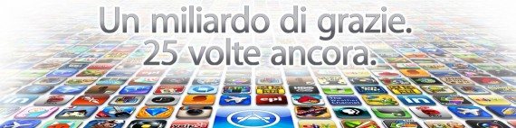 25 miliardesima applicazione scaricata da App store