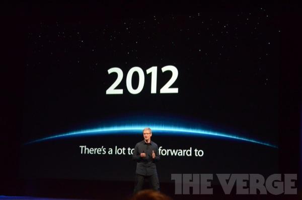 live apple 2012