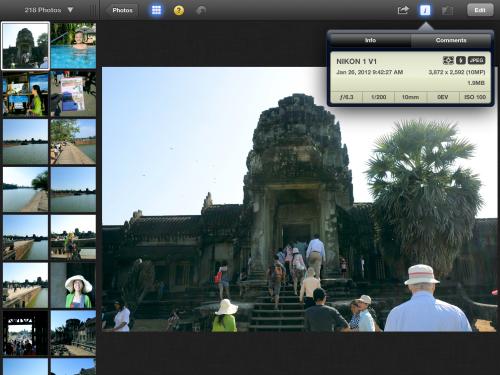 Foto e screenshots del nuovo iPad