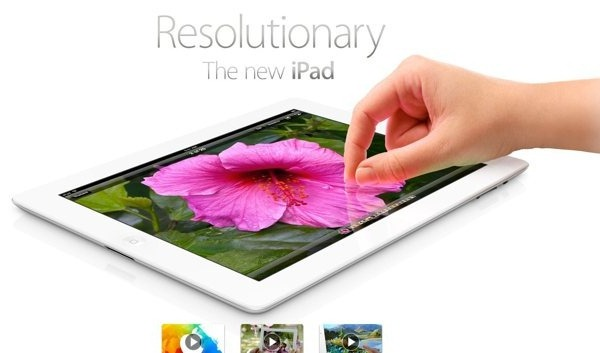 Nuovo iPad apple