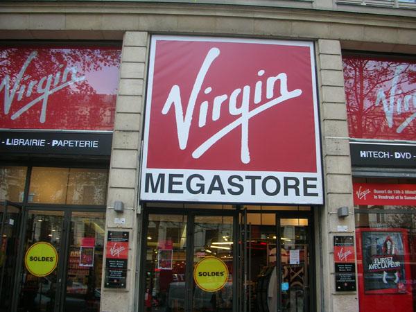 virgin parigi apple store
