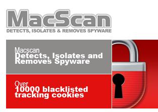 Mantenere sicuro il Mac con MacScan Anti-Spyware