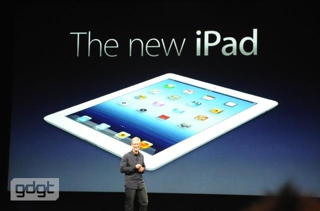 nuovo iPad 3 retina display