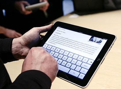 iPad eBook Apple