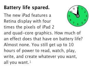 batteria ipad 3