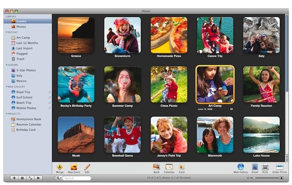 iPhoto per Mac si aggiorna alla versione 9.4.1