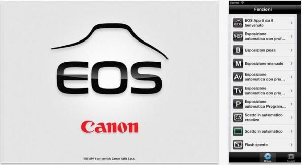 Canon EOS App