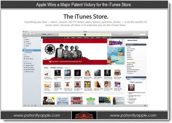 Ultimo brevetto iTunes Store