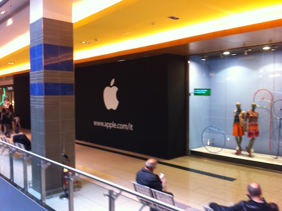 Nuovo Apple Store a Roma