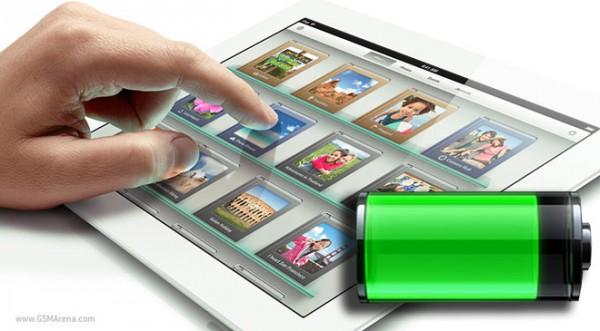 batteria autonomia iPad