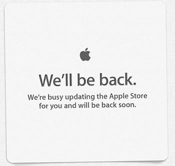 Apple Store offline per aggiornamenti
