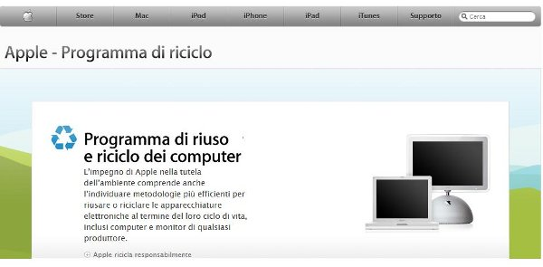 Riciclo device Apple