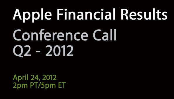Conferenza Q2 Apple