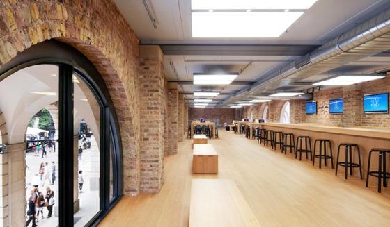 Gli Apple Store di Londra si preparano alle Olimpiadi