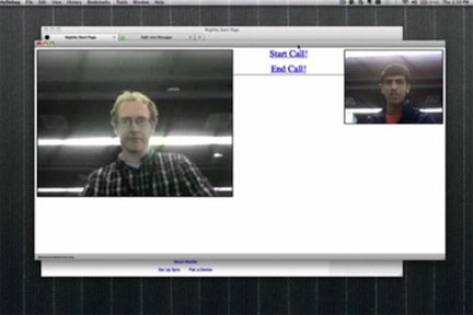 Video chat Firefox