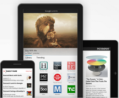 Google Currents disponibile per tutti