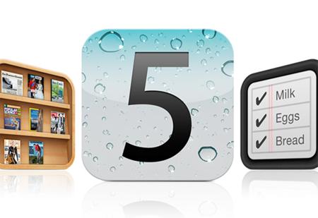 Foto iOS 5 logo