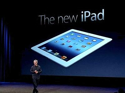 Nuovo iPad e Tim Cook