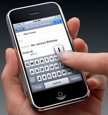 brevetto touchscreen denuncia
