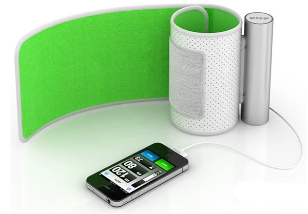 misurare pressione con iphone