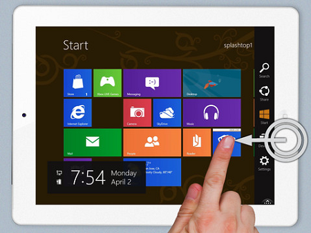 windows 8 su tablet