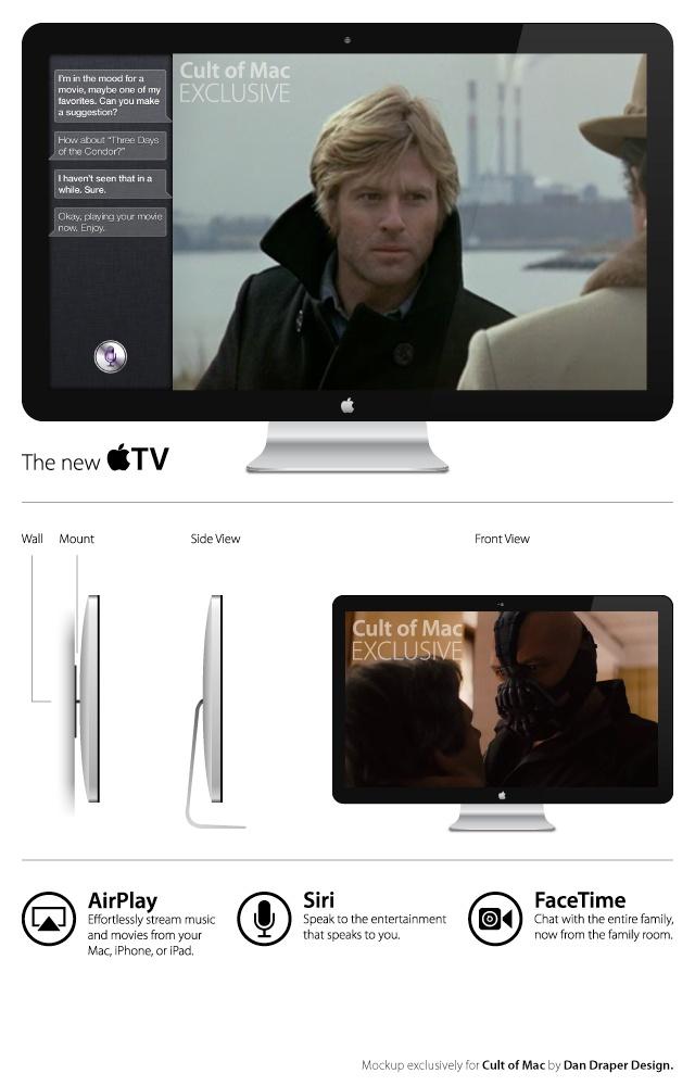tv apple siri