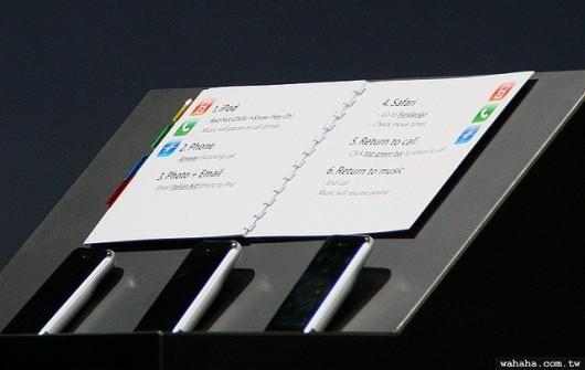 appunti steve jobs presentazione iphone