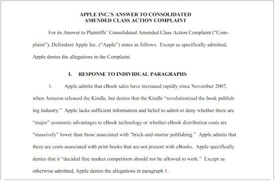 comunicato ufficiale accuse a Apple