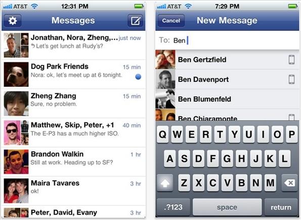 facebook messegner
