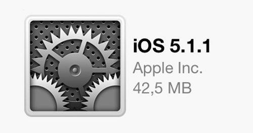 E' disponibile l'aggiornamento a iOS 5.1.1