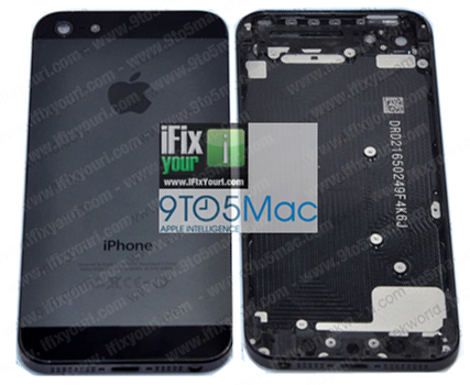 parte back dell'iphone 5