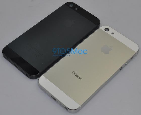 Trapelano le immagini della parte posteriore dell'iPhone 5