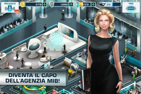 gioco di MIB 3 per iOS