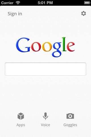 Update per Ricerca Google su iOS