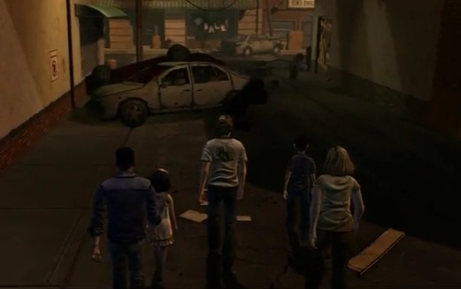 screenshot gioco the walking dead per ios