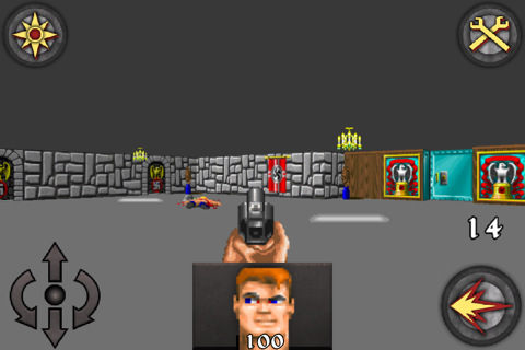 screenshot wolfenstein 3d platinum apple