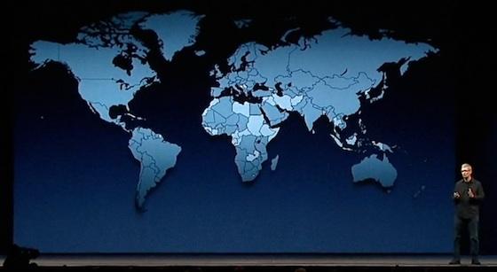 supporto di app store per 155 paesi