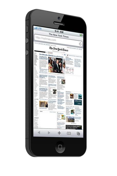 navigazione internet nuovo iphone 5