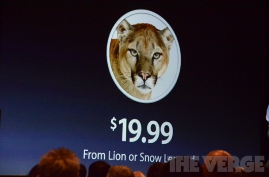 OSX Mountain Lion WWDC 2012