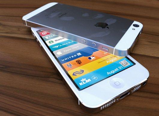 Nuovo concept dell'iPhone 5 bianco: fedele ai rumors