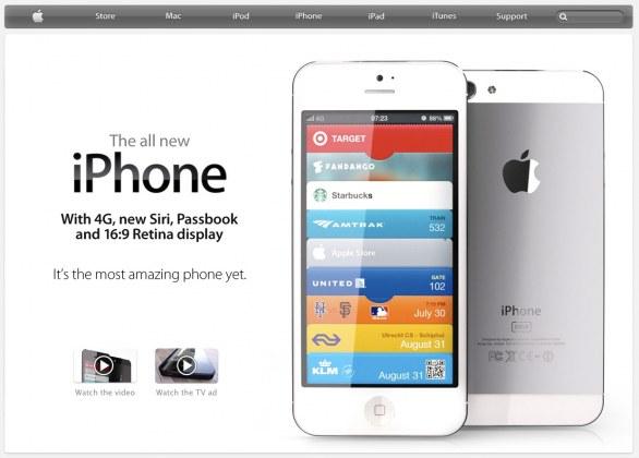 sito apple iphone 5