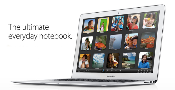 Al WWDC 2012 presentati i nuovi MacBook Air