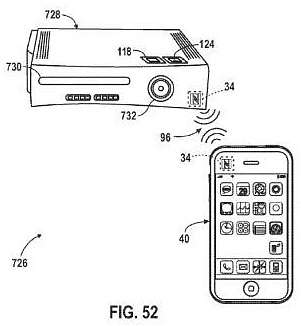 brevetto apple iphone e console